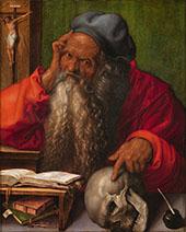 Saint Jerome 2 By Albrecht Durer