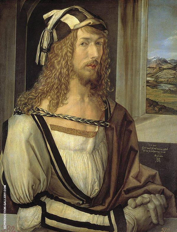 Self Portrait 1498 By Albrecht Durer