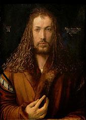 Self Portrait II By Albrecht Durer