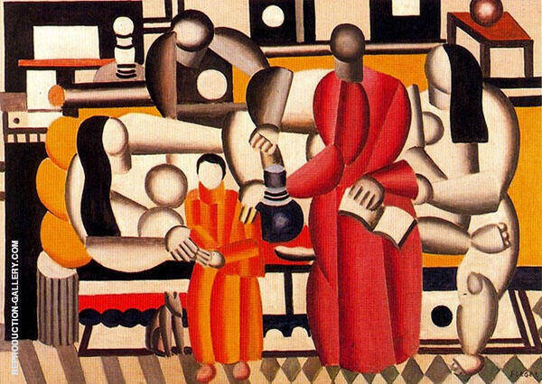 Women in an Interior By Fernand Leger