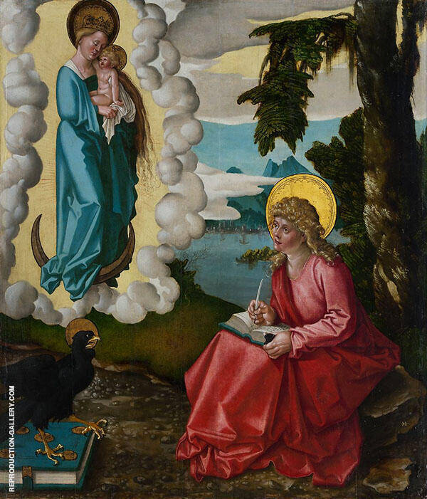 St John on Patmos By Albrecht Durer