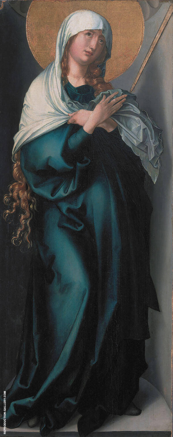 The Virgin as Mother of Sorrows By Albrecht Durer