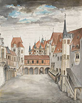 View of Innsbruck from The North By Albrecht Durer