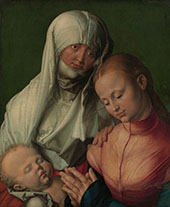 Virgin and Childe with St Anne By Albrecht Durer