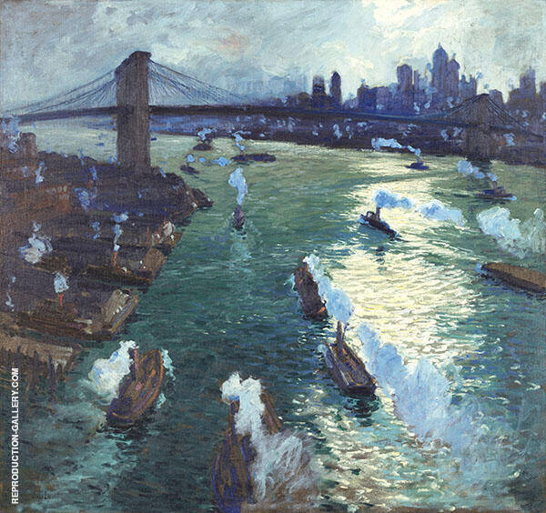 Path of Gold 1914 By Jonas Lie