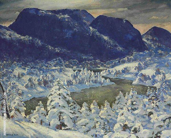 Snow c1935 By Jonas Lie