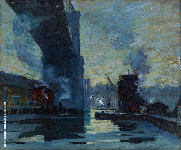 Bridge 1914 By Jonas Lie
