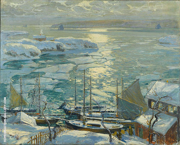 The Old Ships Draw to Home Again By Jonas Lie