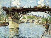 View of The Seine 1909 By Jonas Lie