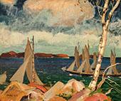 Yachting on The Maine Coast By Jonas Lie