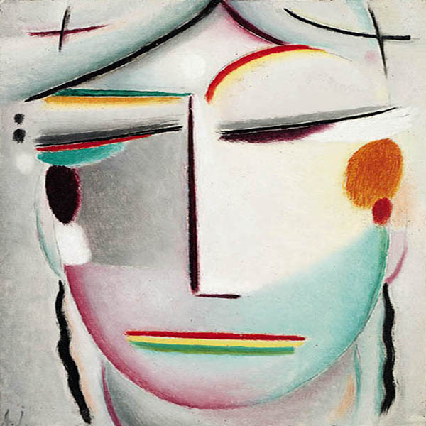 Oil Painting Reproductions of Alexej von Jawlensky