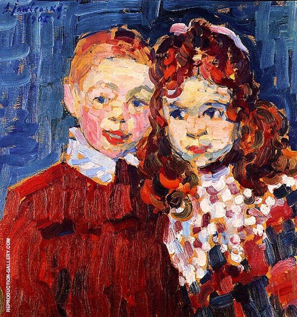 Andre and Katja By Alexej von Jawlensky