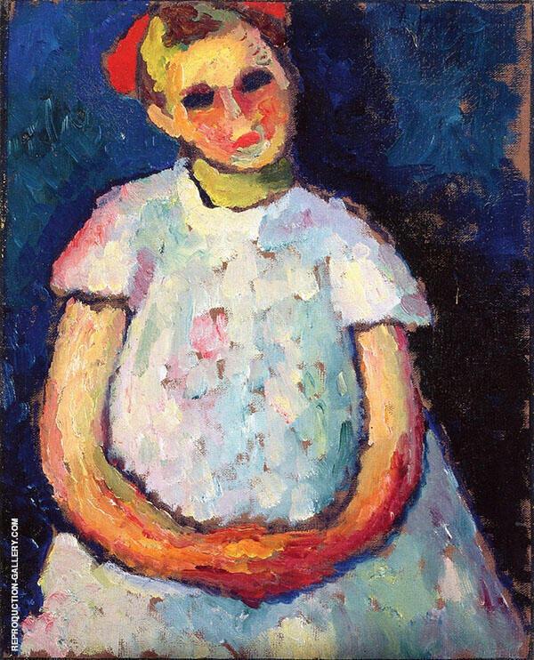 Child with Folded Hands By Alexej von Jawlensky