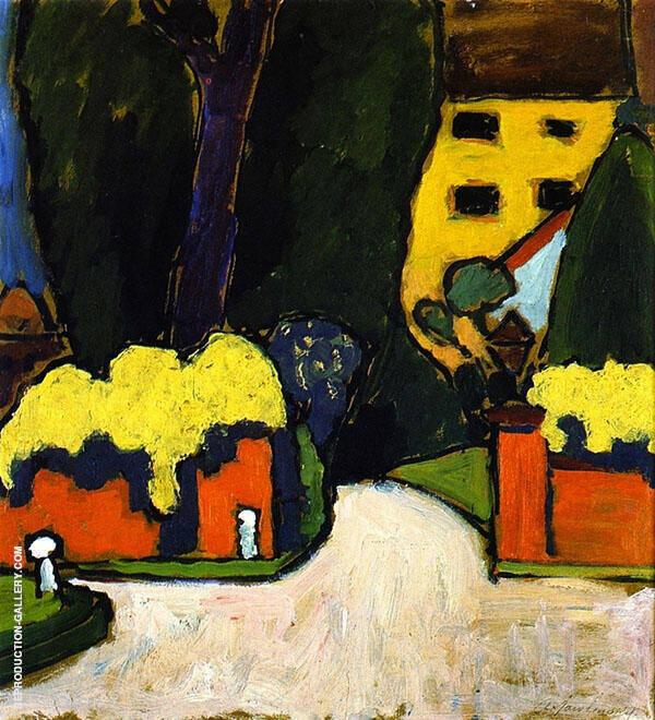 Landscape 1911 By Alexej von Jawlensky
