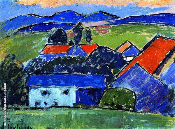 Murnau Landscape By Alexej von Jawlensky