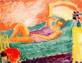 Nude in St. Prex By Alexej von Jawlensky