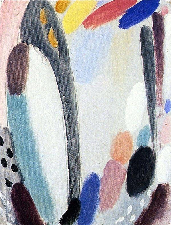 Pale Variation By Alexej von Jawlensky