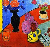 Still Life with Vase and Jug By Alexej von Jawlensky