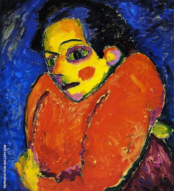 The Hunchback I Painting By Alexej von Jawlensky - Reproduction Gallery