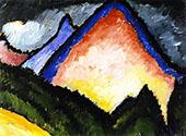 The Mountain By Alexej von Jawlensky