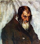 The Old Jew Schlom By Alexej von Jawlensky