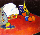 The Red Table By Alexej von Jawlensky