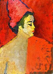 The Turban By Alexej von Jawlensky