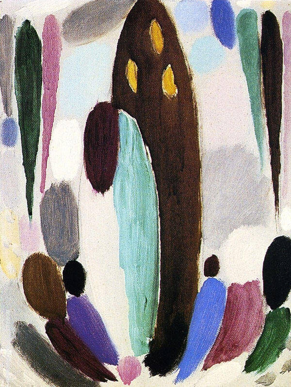 Variation Ascona Painting By Alexej von Jawlensky - Reproduction Gallery