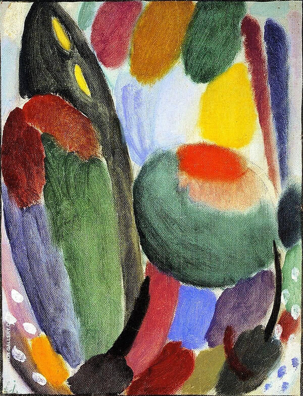 Variation Fragrance and Freshness Painting By Alexej von Jawlensky