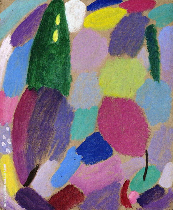 Variation Trust Painting By Alexej von Jawlensky - Reproduction Gallery
