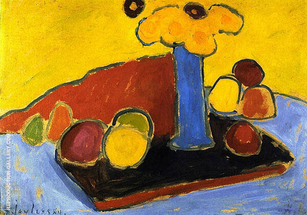 Yellow Sound 1907 Painting By Alexej von Jawlensky - Reproduction Gallery