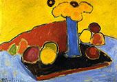 Yellow Sound 1907 By Alexej von Jawlensky