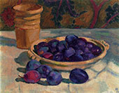 Still Life with Plums 1926 By Theo van Rysselberghe