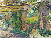 The Arbour 1911 By Theo van Rysselberghe