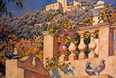 The Balustrade By Theo van Rysselberghe