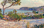 The Dunes at La Faviere 1919 By Theo van Rysselberghe