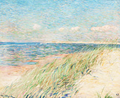 The Dunes of Zwin Knokke 1887 By Theo van Rysselberghe