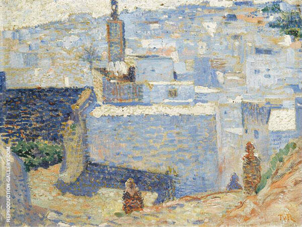 Town in Morocco 1888 By Theo van Rysselberghe