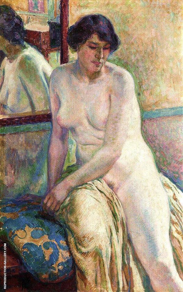 Venetian Woman By Theo van Rysselberghe