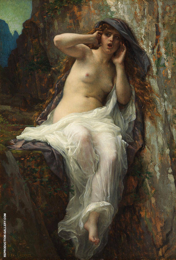 Echo 1874 by Alexandre Cabanel | Oil Painting Reproduction Replica On Canvas - Reproduction Gallery