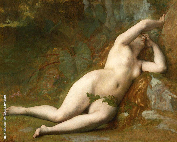 Eve after The Fall Painting By Alexandre Cabanel - Reproduction Gallery