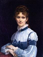 Fanny Clapp 1881 By Alexandre Cabanel