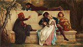 Florentine Poet 1861 By Alexandre Cabanel