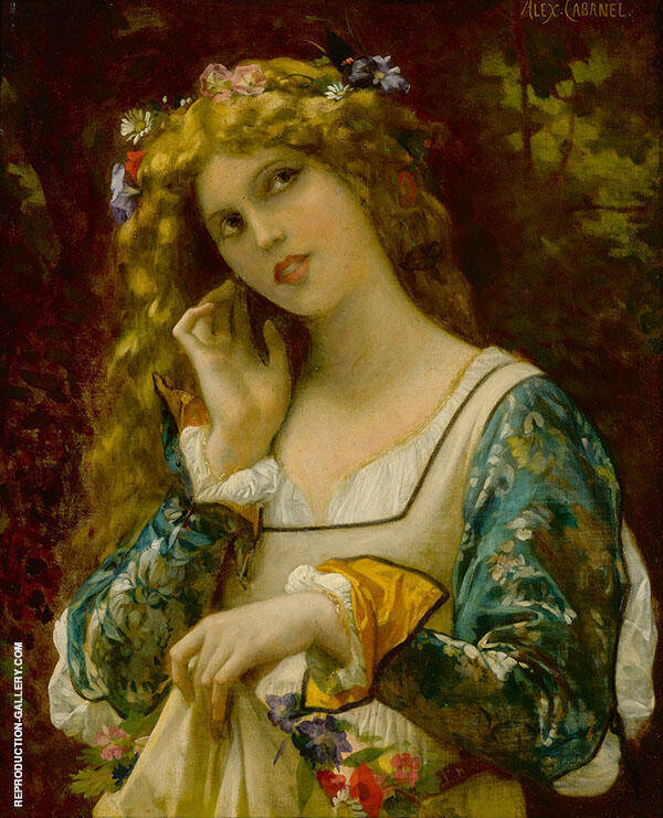 Listening to Echo's Voice Painting By Alexandre Cabanel