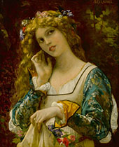 Listening to Echo's Voice By Alexandre Cabanel