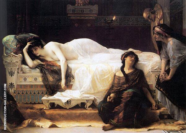 Phaedra 1880 By Alexandre Cabanel