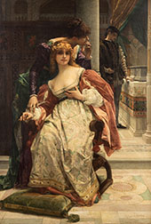 Portia and The Caskets Scene from The Merchant of Venice By Alexandre Cabanel