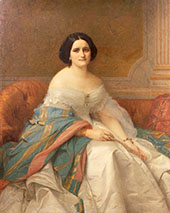 Portrait of Masam Isaac Pereire By Alexandre Cabanel