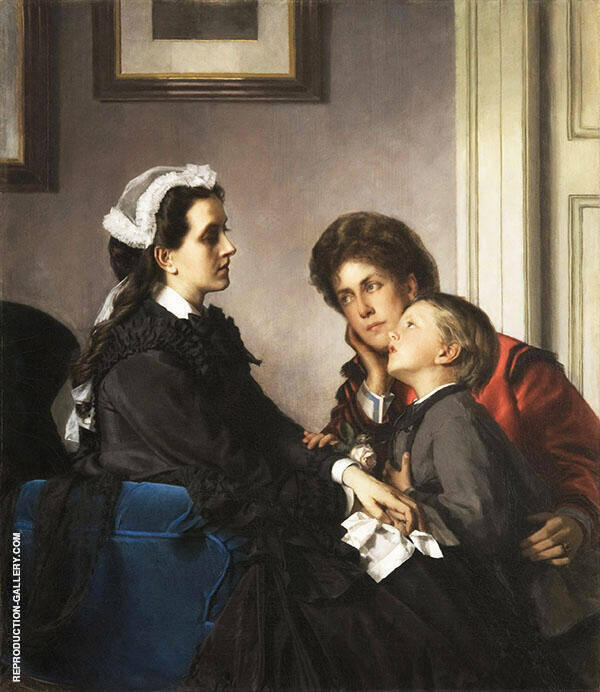 The Governess 1899 Painting By Alexandre Cabanel - Reproduction Gallery
