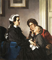 The Governess 1899 By Alexandre Cabanel